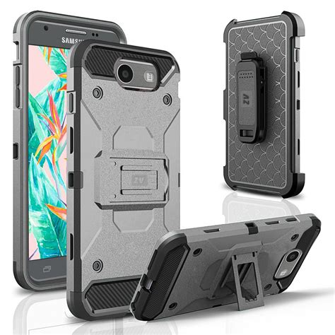 Samsung Galaxy J7 Prime Defender Armor Soft Gel Po Limited for samsung galaxy j7 j727 2017 tough defender