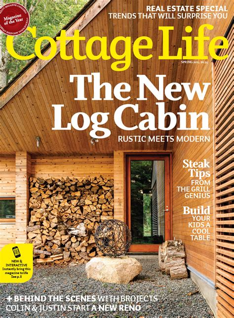 cottage living magazine subscription 2015 cottage magazines cottage