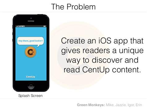 design proposal app centup mobile app design proposal
