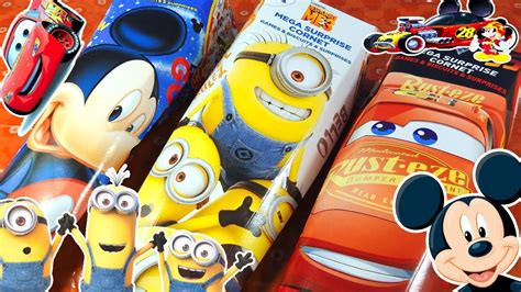 Walkie Talkie Cars Minion Mickey Mouse 3 toys pack minions cars pixar mickey mouse doovi
