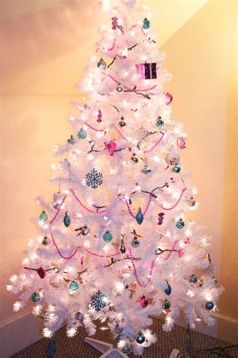 pretty white christmas tree pictures photos and images