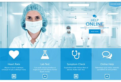 home care website design inspiration best medical website design and wordpress themes