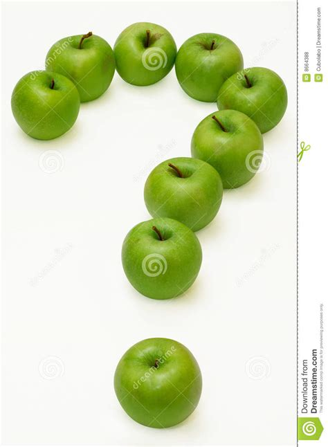 apple questions apple question royalty free stock photos image 8664388