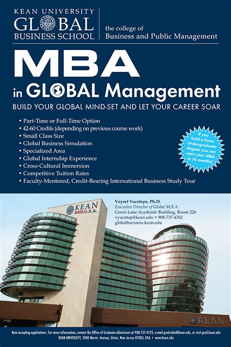 Mba In Nj Without Gmat by Mba Global Management Nathan Weiss