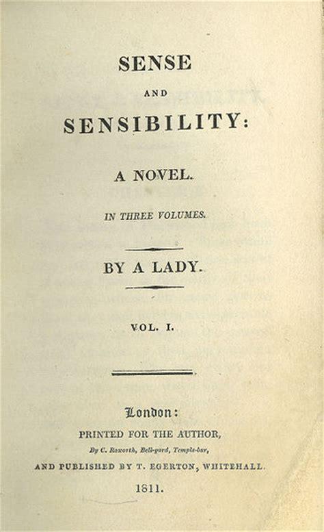 sense  sensibility title page   edition