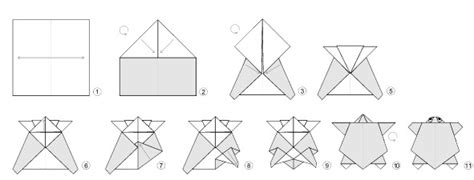 Origami Turtle Diagram - 1000 images about origami on