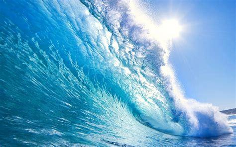 wallpaper   beautiful big wave  sun