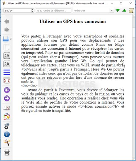 format epub pc pc astuces enregistrer un document au format epub