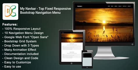 html fixed top bar fixed top bar bootstrap my navbar top fixed responsive bootstrap navigation bar