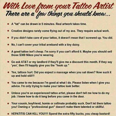 tipping your tattoo artist 49 best studio ideas images on