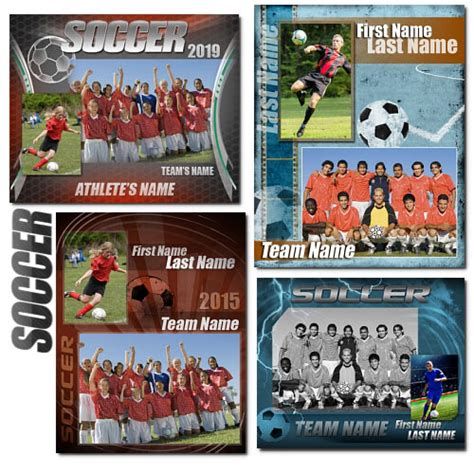 Soccer Memory Mates Arc4studio Free Soccer Team Photo Templates