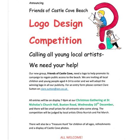 Logo Design Competition Notice | logo design competition sandsfoot castle the rodwell trail