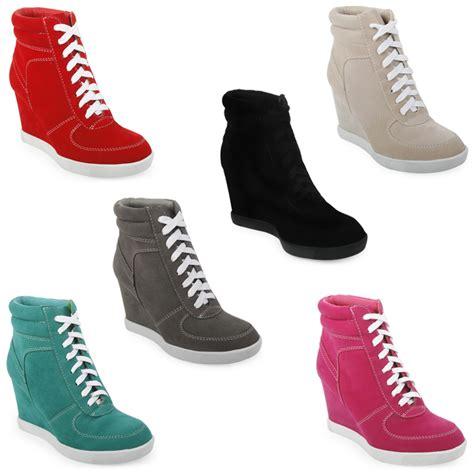 scarpe da tennis con zeppa interna scarpe donna da ginnastica 39l con zeppa e collo alto con