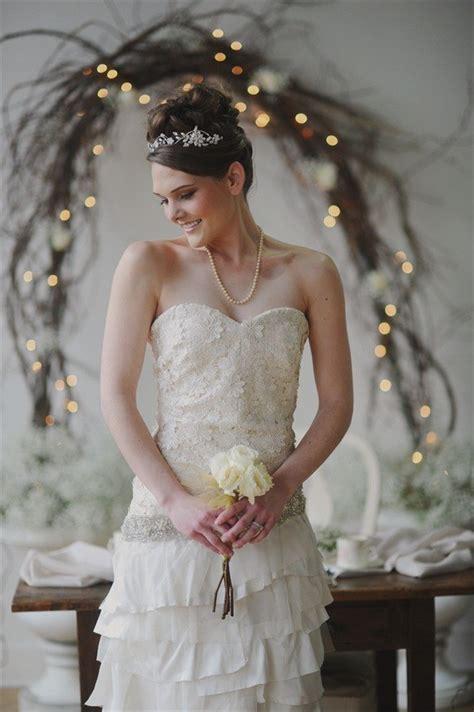 Vintage Bridal Hairstyles by Get Inspired Vintage Bridal Hairstyles Emmaline