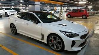 2017 kia stinger gt spied testing in sydney photos 1 of 4