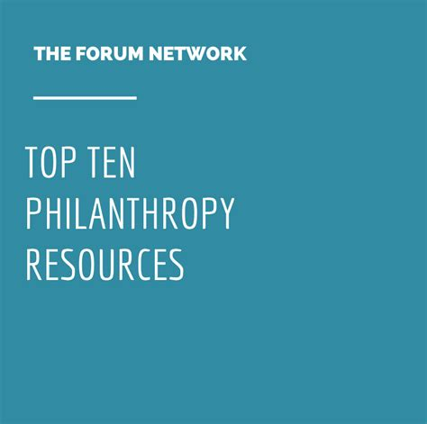 check out the top 20 for this month the qa wiki top ten philanthropy resources forum of regional