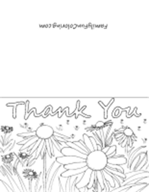 printable thank you cards to colour in printable cards to color familyfuncoloring