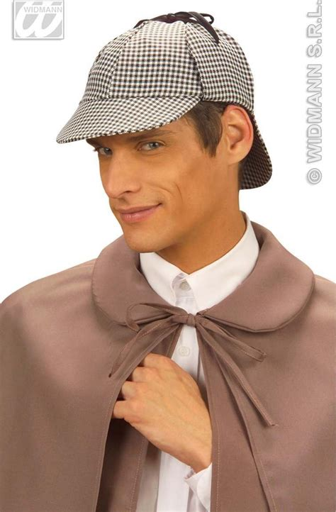 How To Make A Detective Hat Out Of Paper - buy detective hat fancy dress largest fancy
