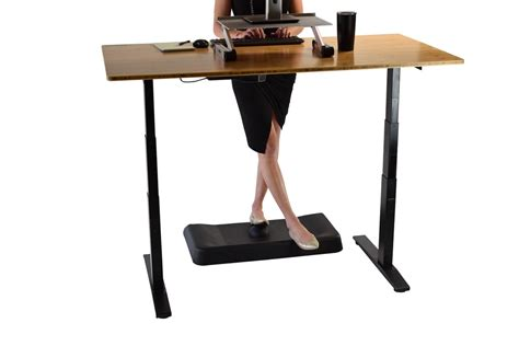 Active Standing Desk Mat Contoured Anti Fatigue Comfort Standing Mat For Desk