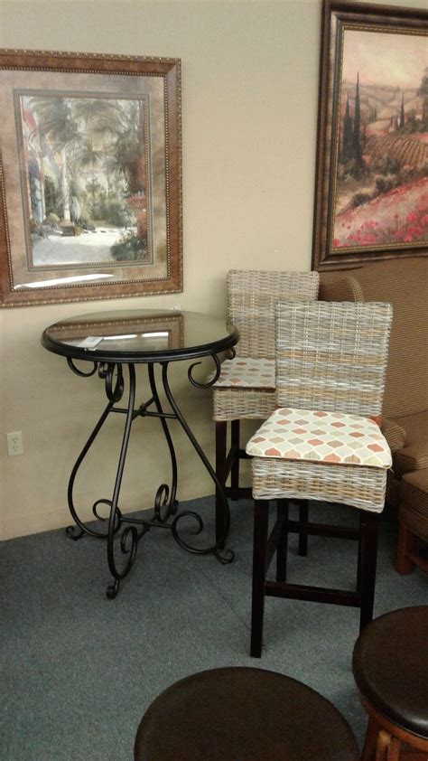 Pier One Bistro Table And Chairs Pier 1 Pub Table And 2 Chairs Delmarva Furniture Consignment