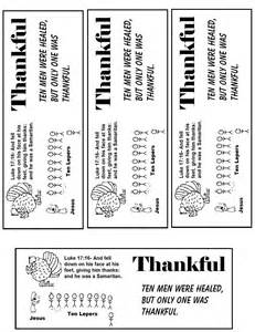 bible lesson on thanksgiving thanksgiving quot one thankful leper quot sunday lesson