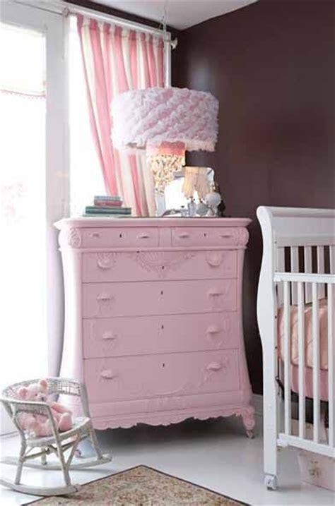 gorgeous pink dresser for a baby girl nursery baby room
