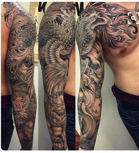 chinese tattoo sleeve designs japanese sleeve tattos japanese