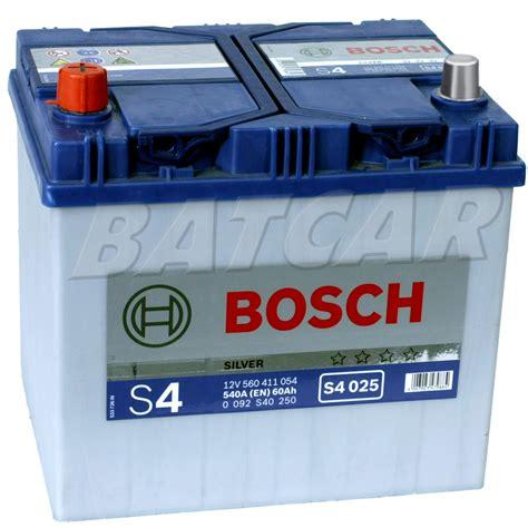 Schaltung Motorrad Rechts Oder Links by Bosch Silver S4 025 60 Ah 60ah 540a En Asia Links