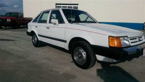 vehicle repair manual 1987 ford escort navigation system buy used 1987 ford escort gl great shape in sussex wisconsin united states
