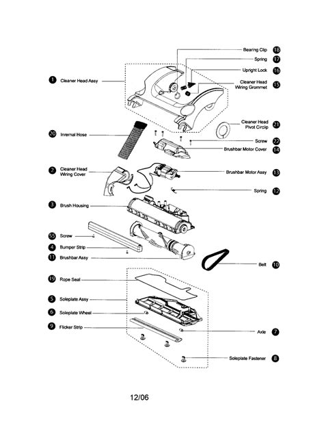 dyson parts diagram dc17 exploded diagrams