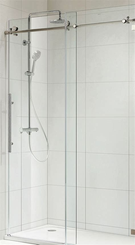 Frameless Shower Door Width 1000 Images About Master Bath On Wall Mount Shower Valve And Kingston