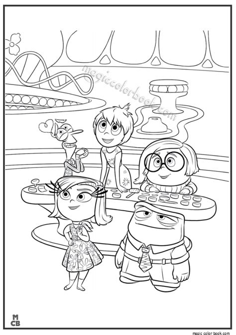 inside out team printable coloring page for kids and adults free coloring pages of inside out