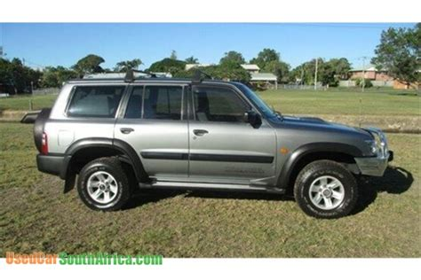 used nissan patrol for sale in south africa 2002 nissan patrol st used car for sale in johannesburg