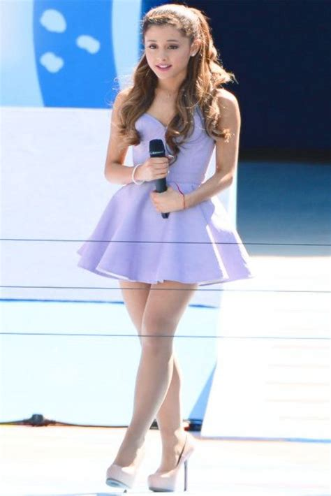 what does ariana grande wear to a party ariana grande short lavender celebrity party cocktail