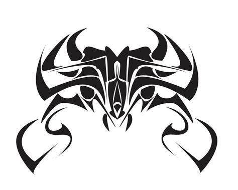 free skull tattoo designs to print tribal crab free printable flash clip