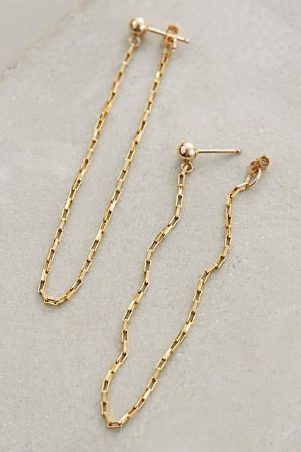 Chained Earring 17 best ideas about chain earrings on