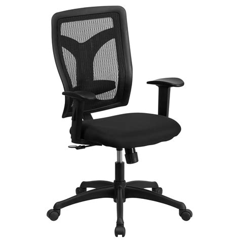 Height Adjustable Chair by High Back Designer Back Task Chair With Adjustable Height