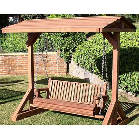 outdoor wood swings woodworking plans garden swing table diy