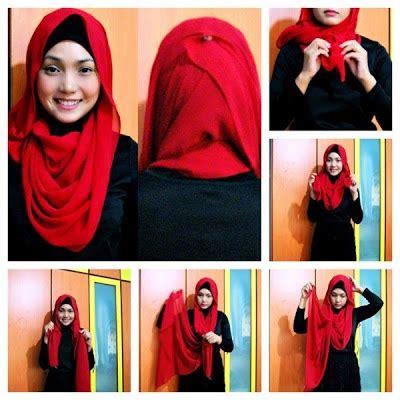 tutorial jilbab pesta elegan 10 tutorial hijab pesta simpel tapi elegan 2017