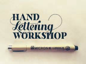 Hand lettering workshop hand lettering by seanwes