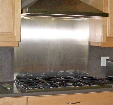 stainless steel subway tile backsplash great home decor