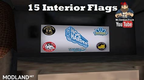 truck cabin flag mod    trucks mod  ets