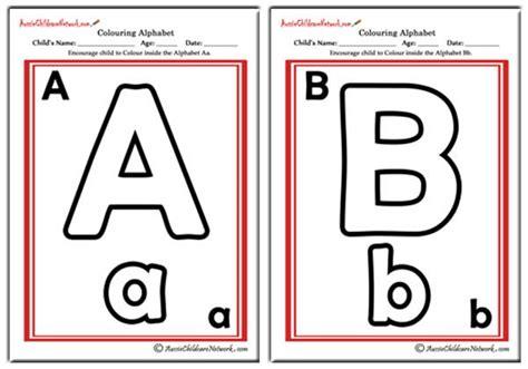 alphabet posters aussie childcare network colouring alphabet classic theme aussie childcare network