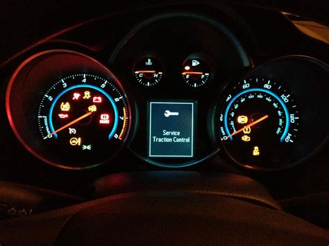 chevy cruze warning lights chevy cruze 2012 service traction autos post