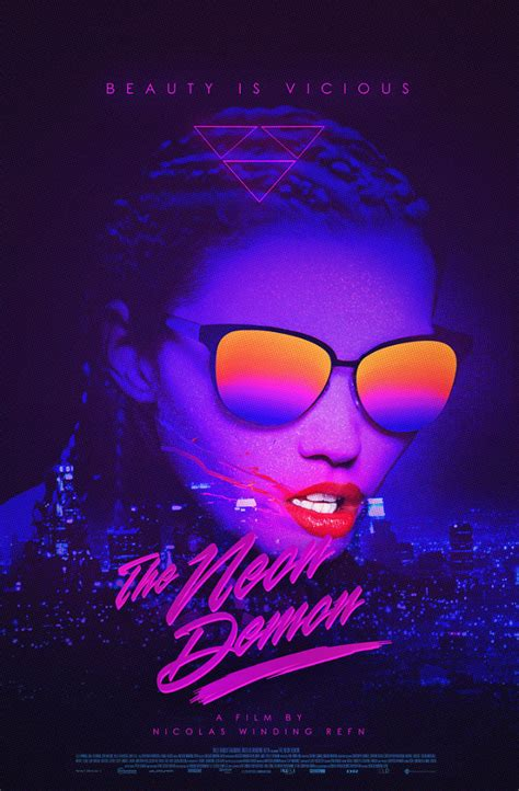 the neon demon new posters beauty as a drug the neon demon a review
