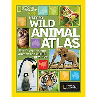The Totally Animal Atlas children s books educational national geographic store