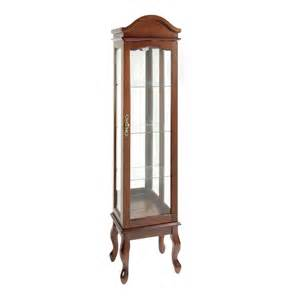 Cherry Curio Cabinet With Light Cherry Curio Cabinet With Light Tree Shops
