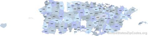 zip code map puerto rico printable zip code maps free download