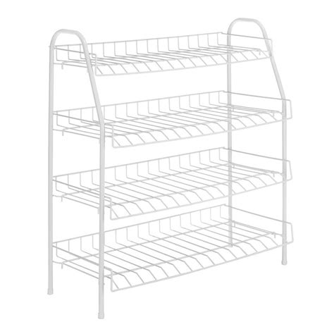 white wire closet drawers whitmor white wire collection 25 in x 27 88 in 4 tier