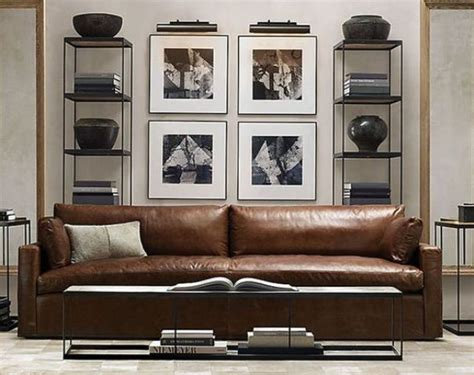 masculine sofas 30 masculine living room furniture ideas to rock digsdigs